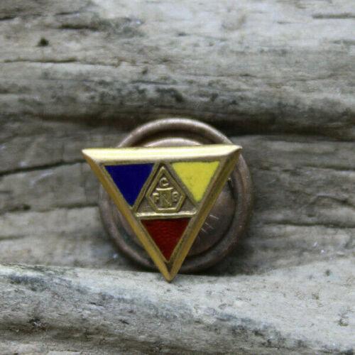 Knights of Pythias FCB Fraternal Screwback Pin  (R3S)