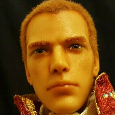 OOAK - custom painted and flocked Prince action doll with articulated body