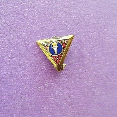 Collectible Tri Hi Y Gold Wash over Brass Enamel Pin