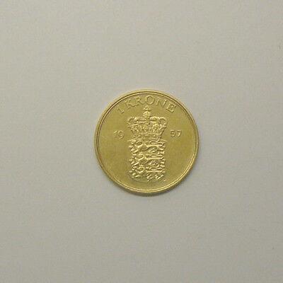 Dänemark  1 Krone 1957 gebraucht kaufen  Dunningen