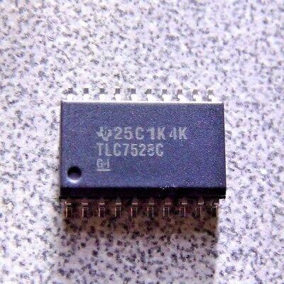 Tlc7528cdw - Digital To Analog Converter 8 Bit 10 Msps Parallel K