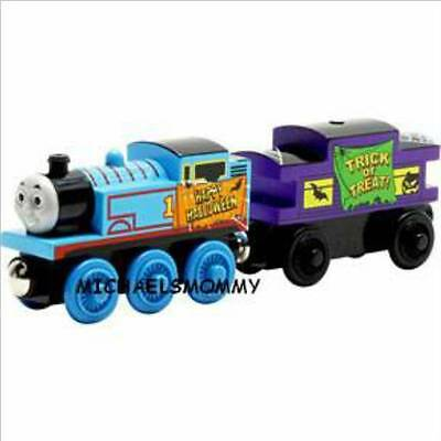 THOMAS THE TANK & FRIENDS - WOODEN THOMAS & THE HALLOWEEN CABOOSE - NEW IN BOX!! - Kid Friendly Halloween Games