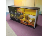 Pop Up Exhibition Counter 2m wide Valued at £450 each. Grab a BARGAIN!