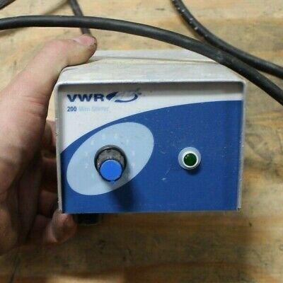 Vwr 200 Mini Stirrer Magnetic Laboratory Stirrer
