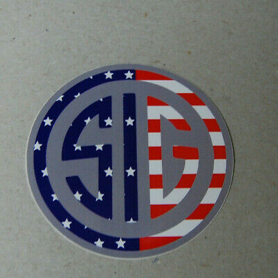 Sig Sauer American Flag Peel and Stick Decal 4
