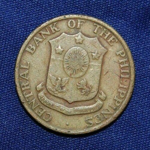 Philippines 5 Five Centavos 1960 coin