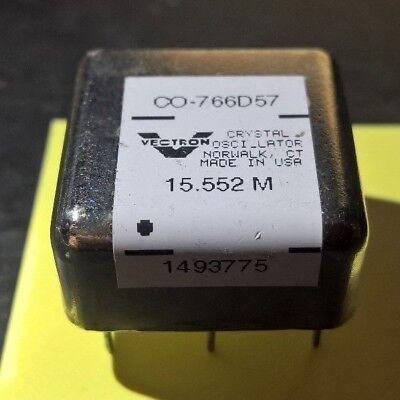 Vectron Co-766d57 15.552 Mhz Crystal Oscillator Oxco