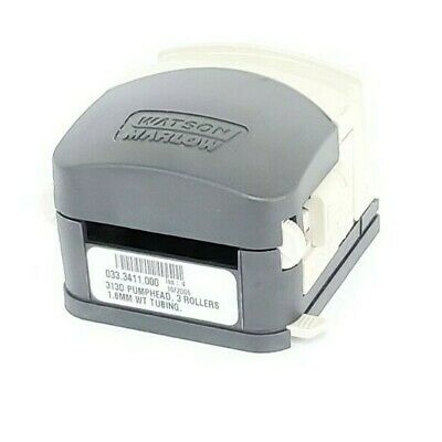 Watson Marlow 313d Peristaltic Pump Head 3 Rollers 1.6mm Wt Tubing 033.3411.000