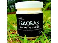 100% pure, organic, raw baobab powder