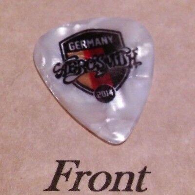 AEROSMITH - JOE PERRY band Signature Logo guitar pick  -(W7)