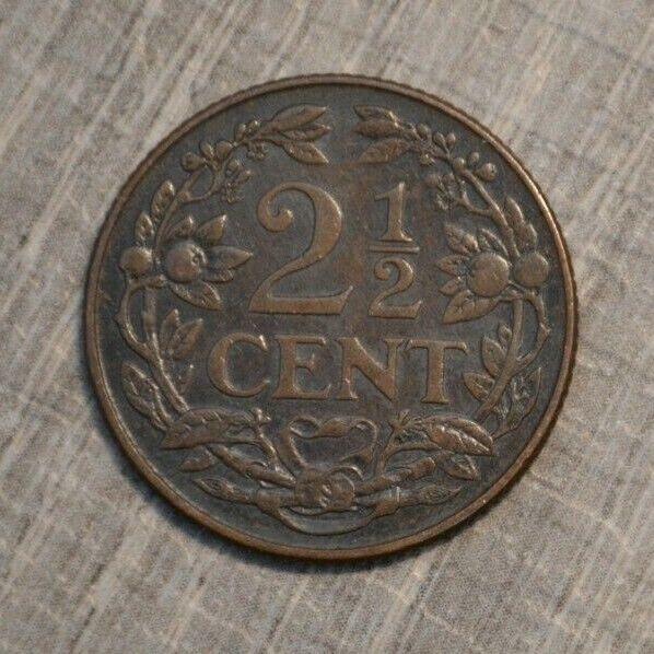 Netherlands 2 1/2 cent 1929