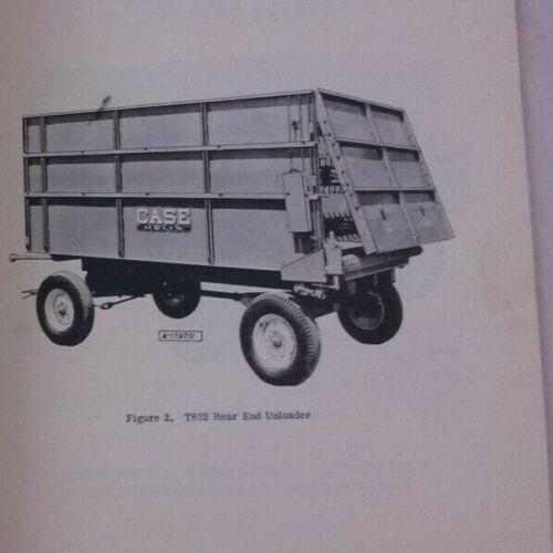 Case Grain Box Wagon Rear End Unloader Bunk Feeder T851 T852 T853 Manual genuine