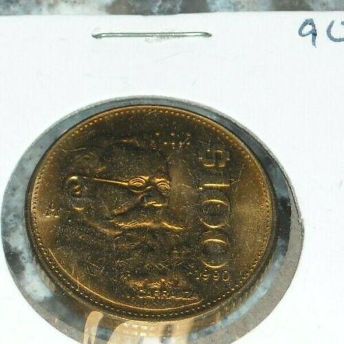1990 Mexican $100 Foreign World Coin Mexico