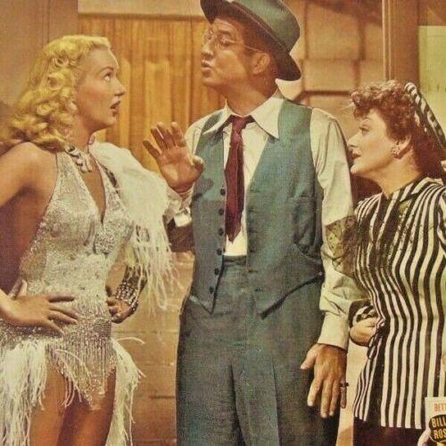 Betty Grable ~ Diamond Horseshoe ~ Lobby Card ~ Title Card 13 x 10