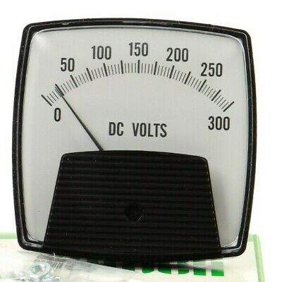 Vintage - Jewell Instruments Nib 3pbdvv300 0-300vdc Panel Meter