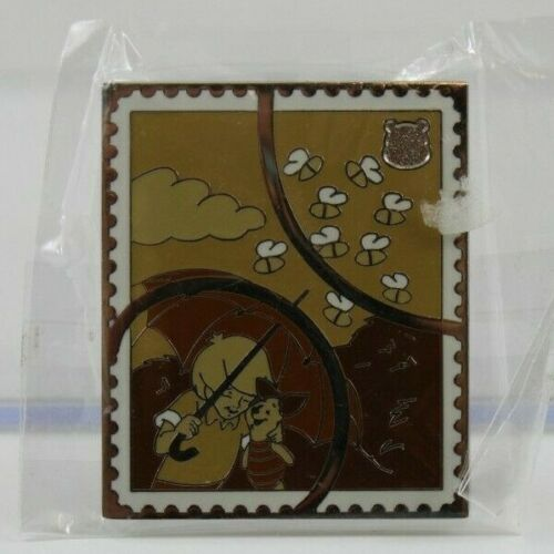 Disney DLR Pin Trading Stamp Collection Pooh