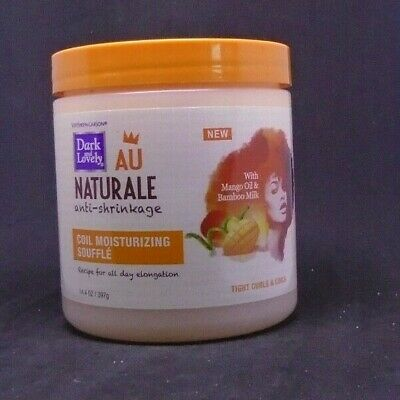 Dark & Lovely Au Naturale Anti-Shrinkage Curl Cream Moisturizing Souffle 14.4
