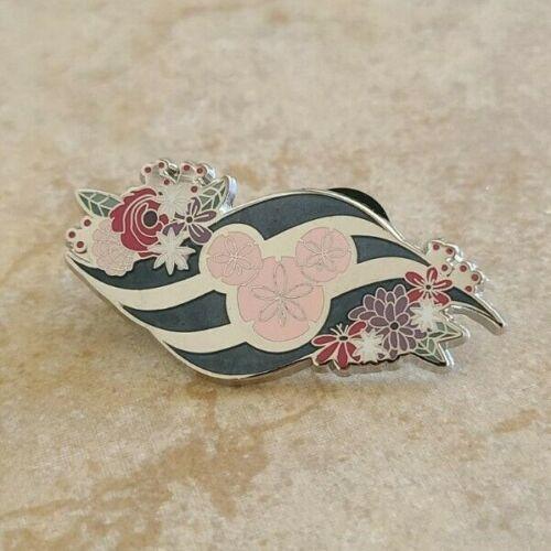 Pin Trading Disney Pins Disney Cruise Line Logo Mickey Icon Flowers