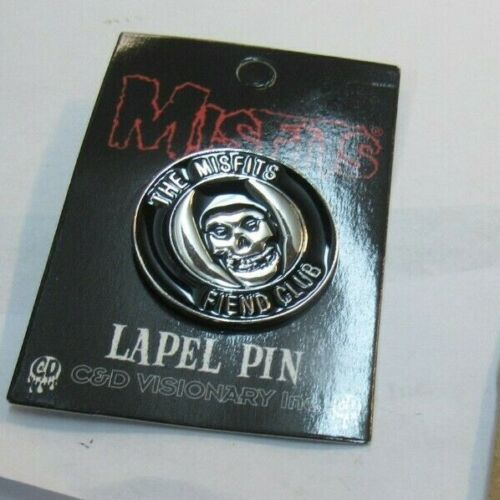 MISFITS LAPEL PIN  NEW 2020  VINTAGE OOP RARE COLLECTIBLE  DANZIG