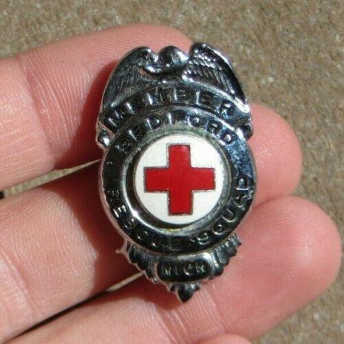 Bedford Township Michigan Rescue Squad Life Guard Badge Pin