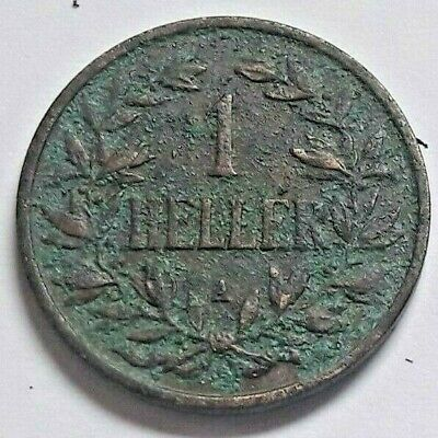 Deutsch Ostafrika 1 Heller 1913 A - Deutsche Kolonie im Kaiserreich heute Kenia