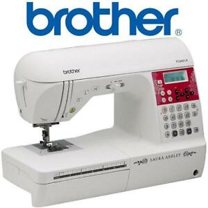 OB* BROTHER SEWING MACHINE LTD ED PC660LA 159431942 Laura Ashley Limited Edition Computerized Sewing  Quilting Machin...
