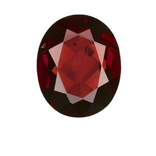 GIA NO HEAT NATURAL Dark Red Pyrope-Almandine Oval Garnet 5.04 CT
