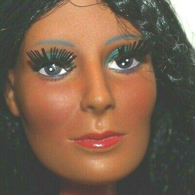 Vintage Barbie 1976 Mego CHER DOLL #62400 w/Original Dress, CLEAN, NICE
