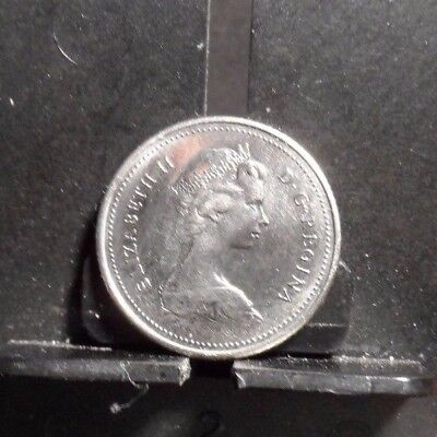 CIRCULATED 1979 10 CENT CANADIAN COIN(91717)1