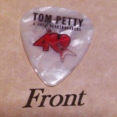 TOM PETTY (Band Signature Logo) guitar pick  -(w)
