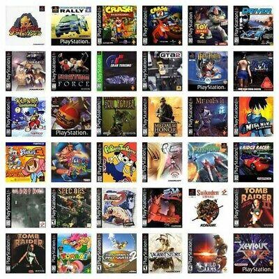 Giochi PlayStation 1 PlayStation 2 Ps1 Psx Ps2 **LEGGERE DESCRIZIONE**