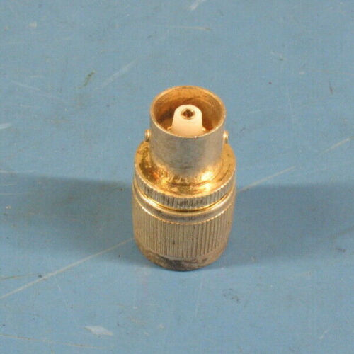 UG564/U Type C Female to UHF PL259 Male Coaxial Adapter PTFE Silver Brass