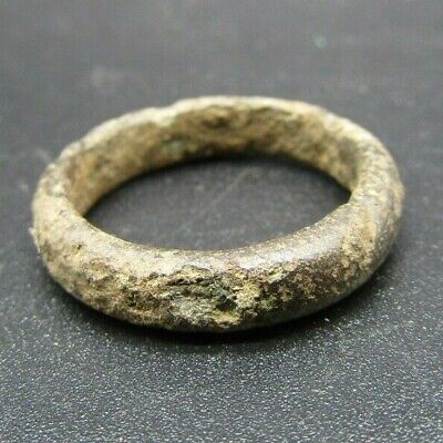 Medieval band bronze ring 10th century