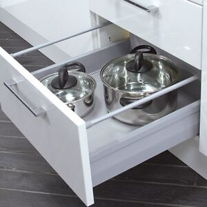 Soft close drawer box kitchen bedroom cabinet drawers for Kitchen drawer units for sale