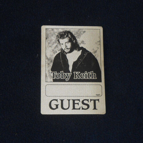 Toby Keith Guest OTTO Unused Backstage Pass