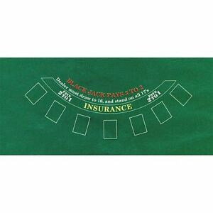 Blackjack Table Top with all accessories