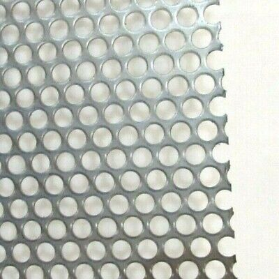 -14 Hole 16 Ga.--.0598- 304 S.s. Perforated Sheet-- 8 X 8