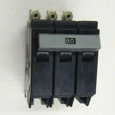 Square D QOU380 3 Pole 80 Amp 240v Feed Through