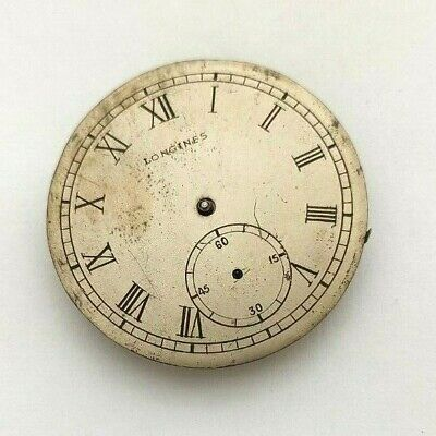 OLD LONGINES CALIBER 18.80 POCKET WATCH STEM AT 3 MOVEMENT FOR REPAIR/PARTS