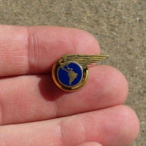 1930s Vintage Pan Am American Pacific Service Lapel Pin