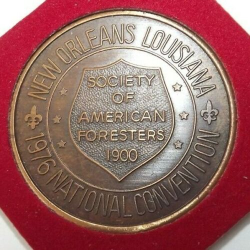 Vintage Society of American Foresters 1976 National Convention Medal Medallion