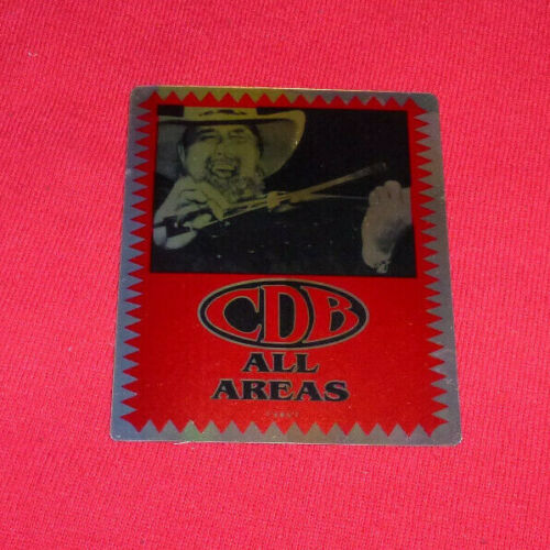 Charlie Daniels Band All Areas Unused Backstage Pass