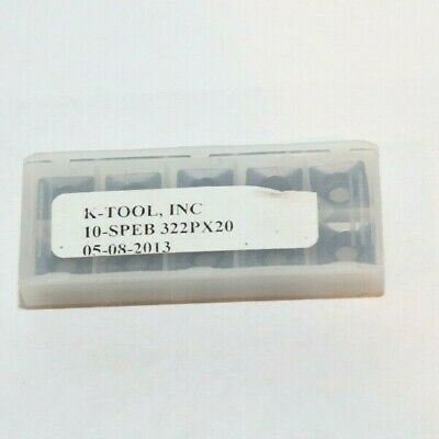 Speb 322 P X20 K-tool 10 Inserts Factory Pack