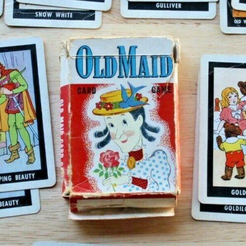 Vintage Old Maid Card Game
