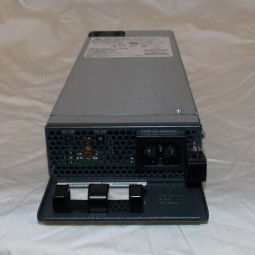 Cisco PWR-C2-640WAC 640W power supply for Cisco 2960-XR and Cisco Catalyst 3650