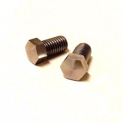 2 M8 Lathe Tool Holder Clamp Screws For Mazak 100s Cnc Turret Face Clamp Block