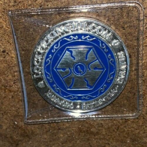 Def Con 24 Convention Hackers Number Edition Lockpicking 101.Challenge Coin./300