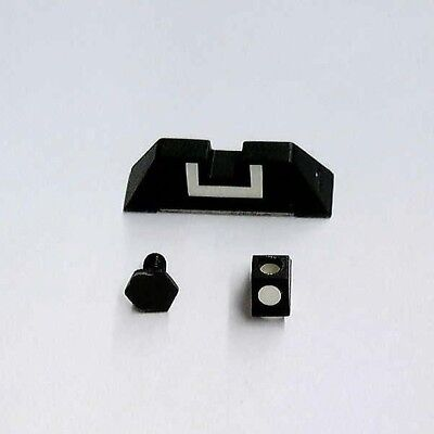 Glock OEM Factory 6.9mm Polymer Front & Rear Sight 20 21 29 30 30S 31 32 36 -