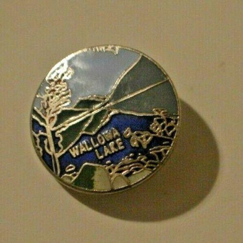 Wallowa Lake Round Souvenir Travel Pin Oregon