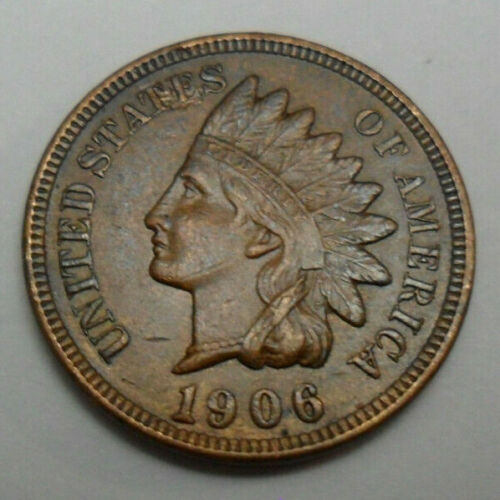 1906 P Indian Head Cent Penny  *GOOD OR BETTER*  **FREE SHIPPING**